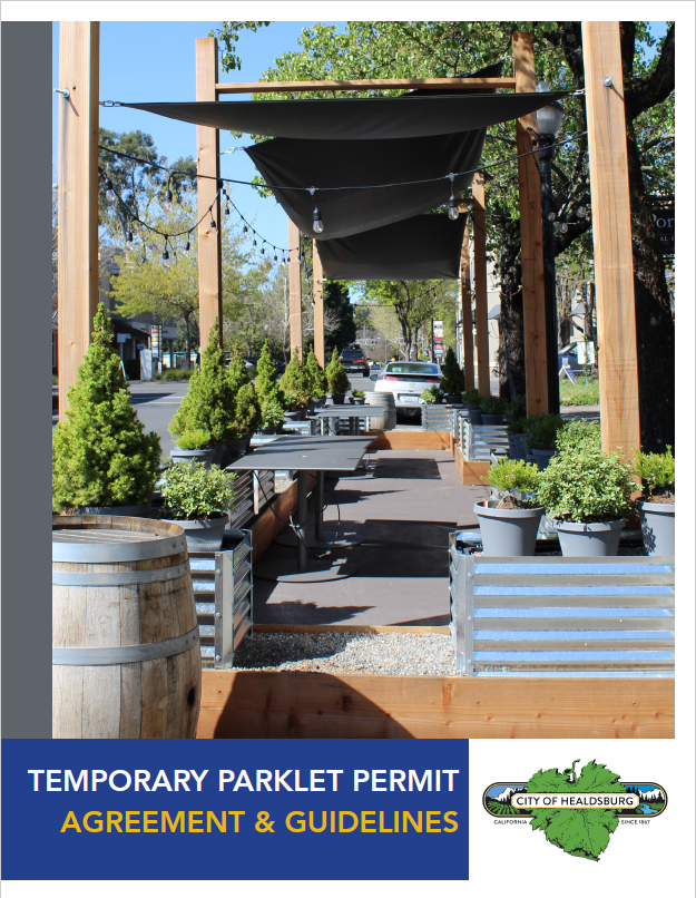 Temporary Parklet Permit Guidelines