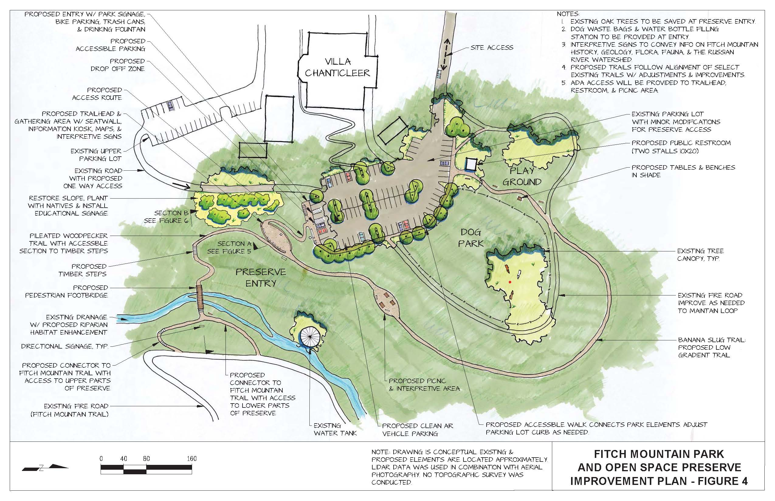 Fitch Mountain Access Improvement Plan