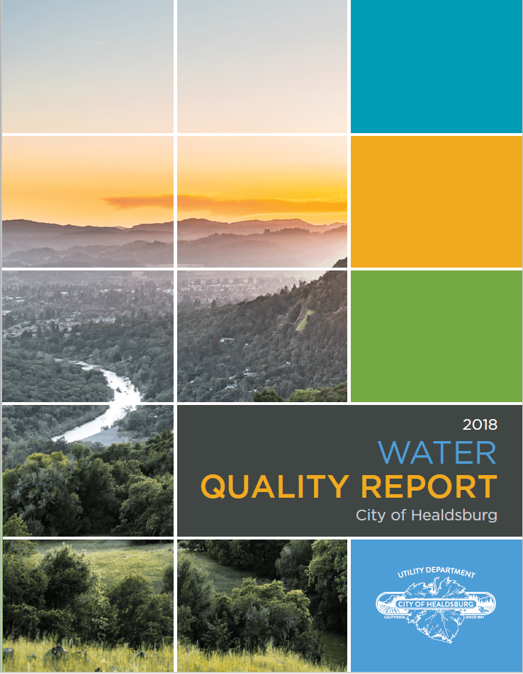 2018 Water Quality Report Cover