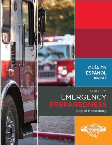Image of the cover of the Emergency Preparedness Brochure Opens in new window